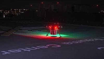 В США человеческий орган для трансплантации доставили дроном