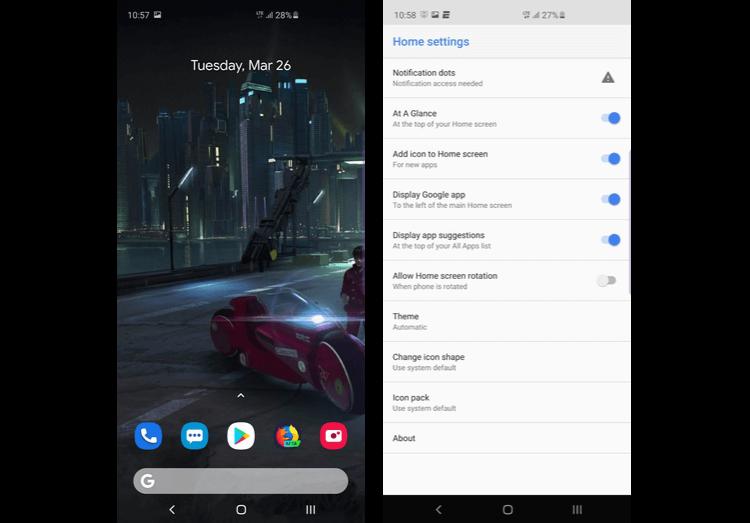 Как превратить Galaxy S10 в Google Pixel