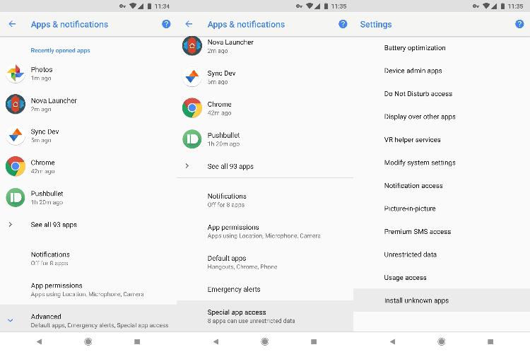Как устанавливать приложения из сторонних источников на Android 8.0 и выше