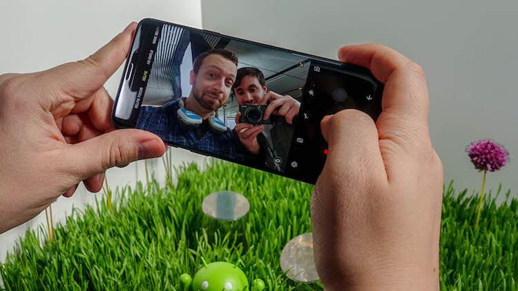 Samsung сломала фронтальную камеру Galaxy S9 в последнем обновлении