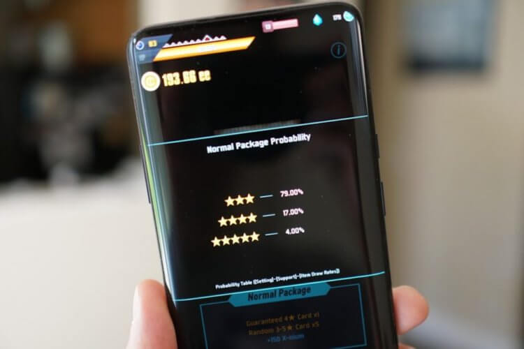 Google обязала разработчиков указывать шансы на получение кейсов в играх