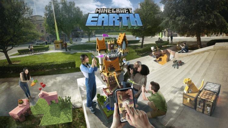 Популярная игра Minecraft добралась до реальности