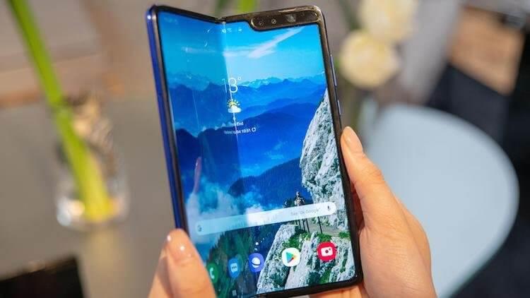 Samsung предупредила о заломах дисплея и перегревах Galaxy Fold