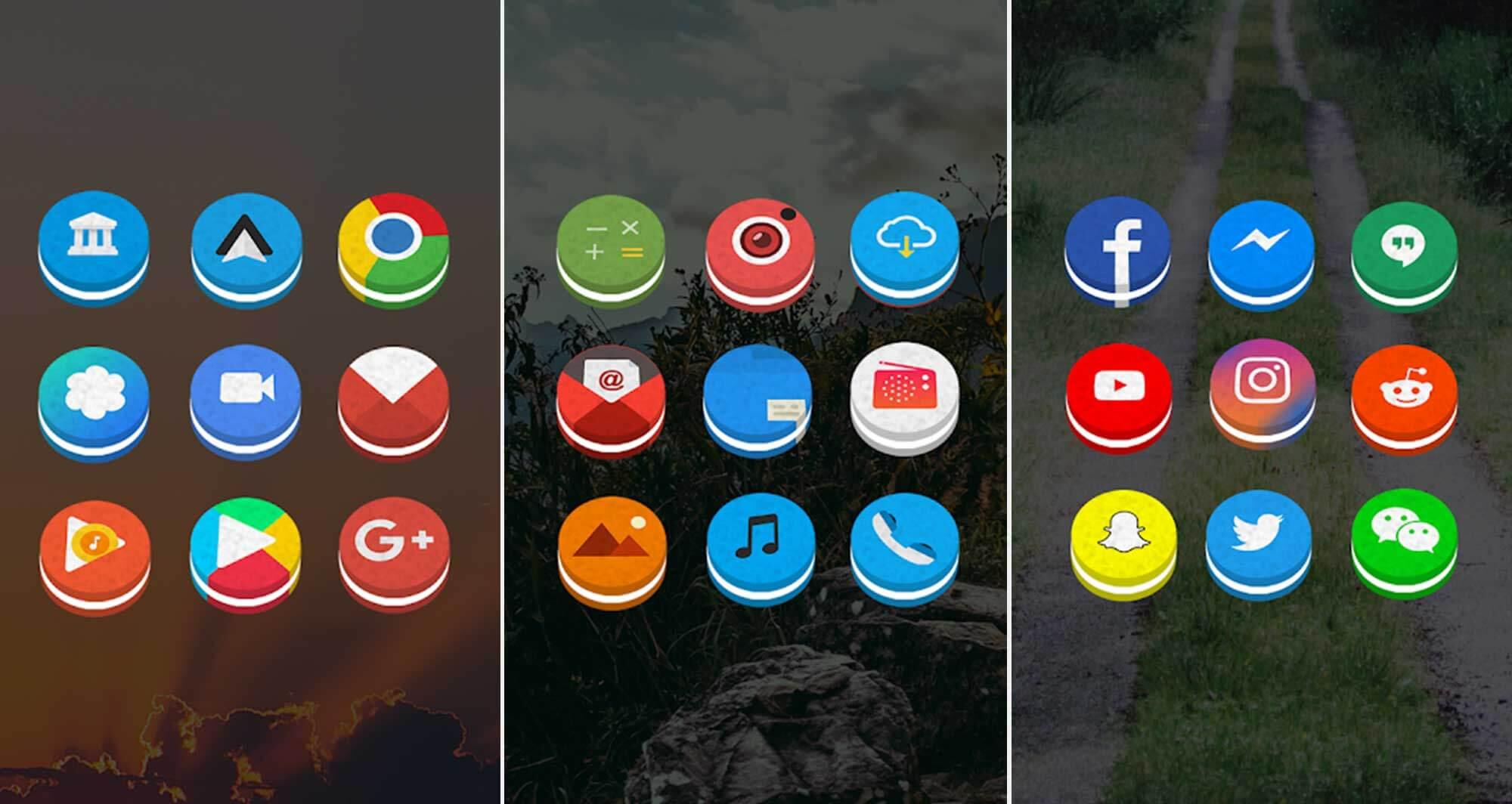 15 лучших паков иконок для Android