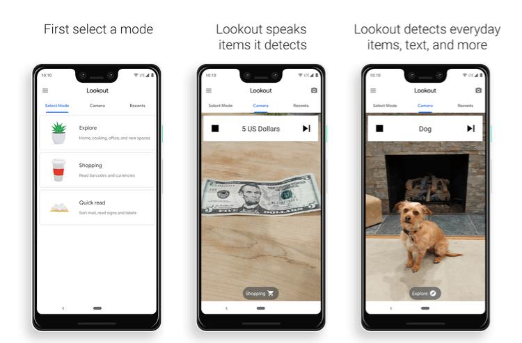 Как Google Lookout использует искусственный интеллект, чтобы помогать людям с нарушениями зрения