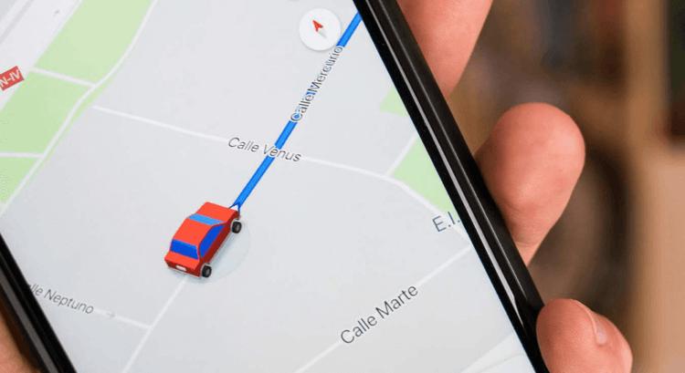 Google Maps тестируют функцию оповещения пользователя при смене таксистом первоначального маршрута