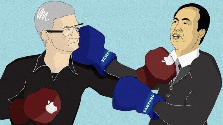 Samsung потребует от Apple выплатить штраф за то, что та заказывает мало дисплеев для iPhone