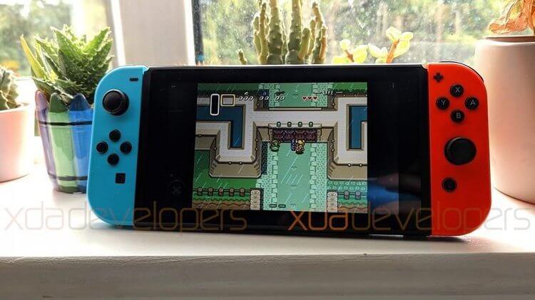Android установили на игровую приставку Nintendo Switch