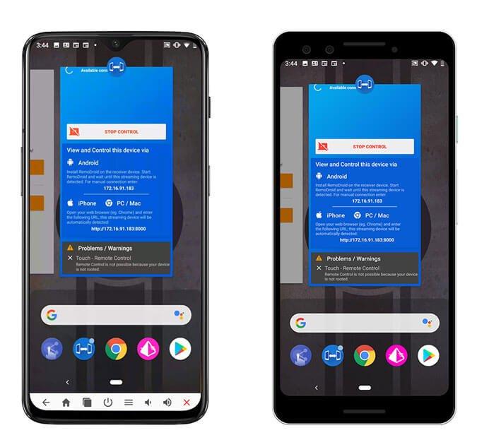 Screen Share: функция, которая позволяет стримить изображения на другие Android-устройства