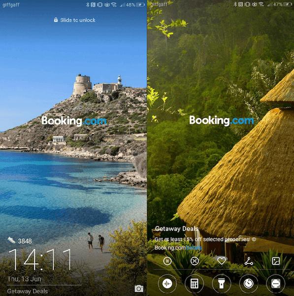 Huawei начала встраивать рекламу в свои смартфоны