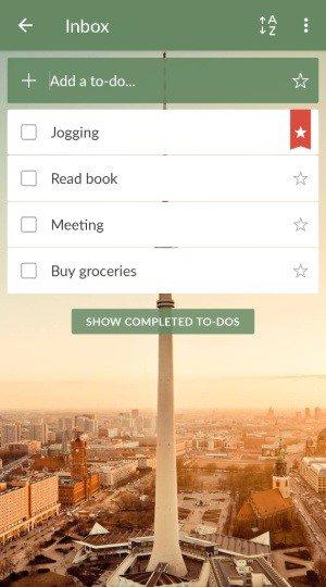 Топ-10 приложений-планировщиков под Android