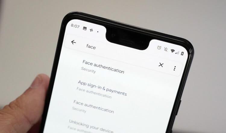 Google научит распознавание лиц в Android подтверждать платежи