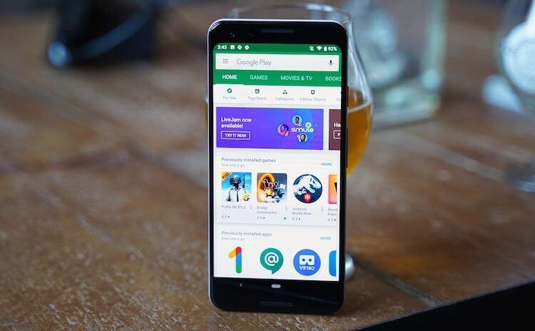 Google представила Google Play в новом дизайне. Как включить его у себя