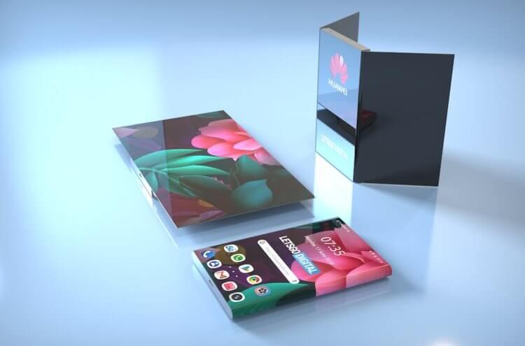 Mate X так и не вышел, а Huawei уже патентует новый складной смартфон