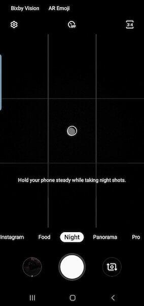 Galaxy S9 получил поддержку ночного режима съемки как в Galaxy S10