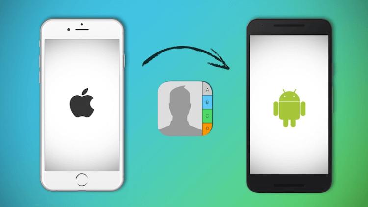 5 способов перенести контакты с iPhone на Android