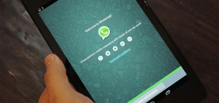 Как использовать WhatsApp на планшете