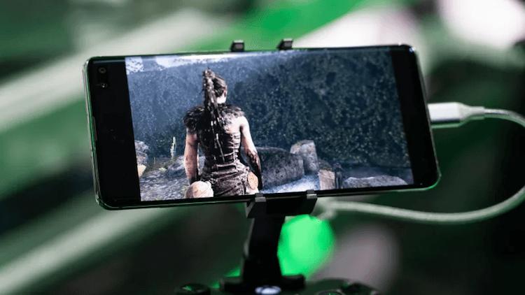 Главный эксклюзив Xbox запустили на Galaxy S10