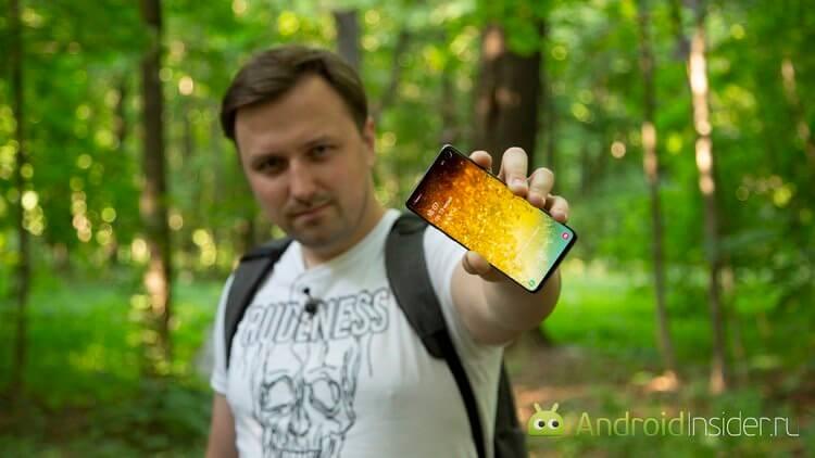 Samsung Galaxy S10 — хороший, но с изъянами