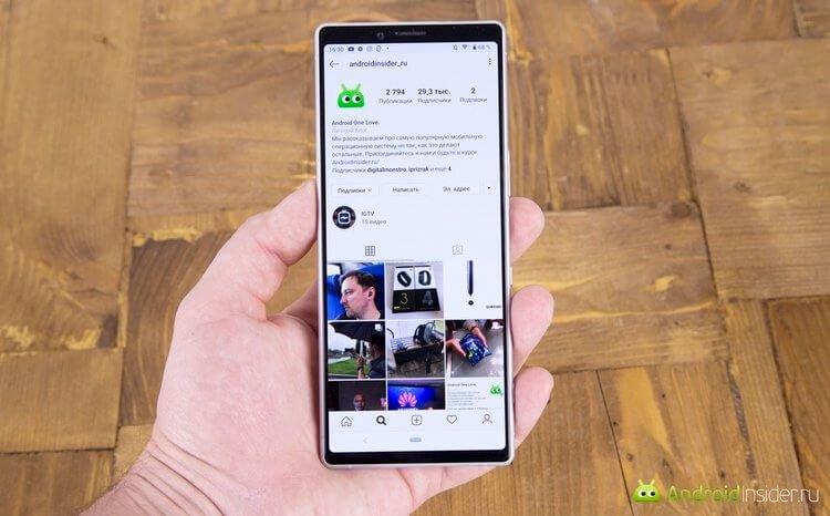 Обзор: Sony Xperia 1 — самый необычный смартфон