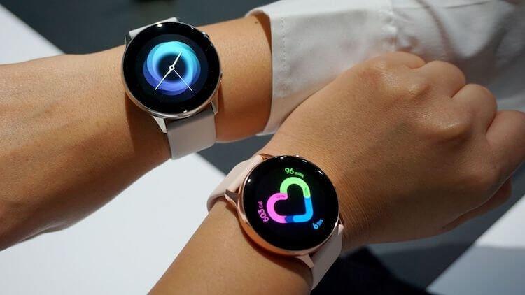 Galaxy Watch Active 2 получат функцию измерения ЭКГ и определения падений