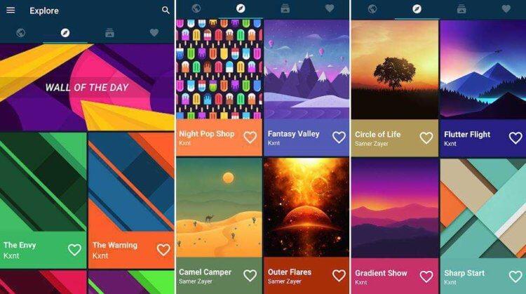 Лучшие приложения для смены обоев на Android