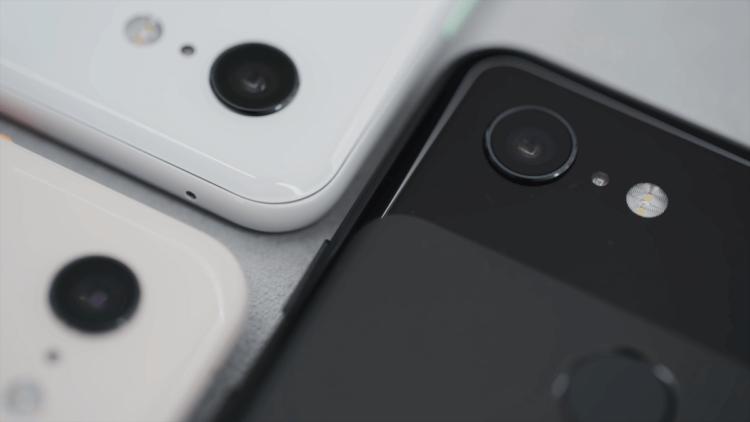 Камера Google Pixel 3 сошла с ума