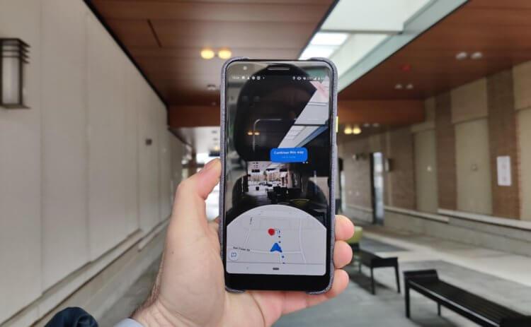Google выпустила AR-режим в Google Maps для всех