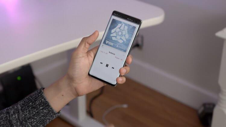 Как выглядит ночная тема в Apple Music для Android