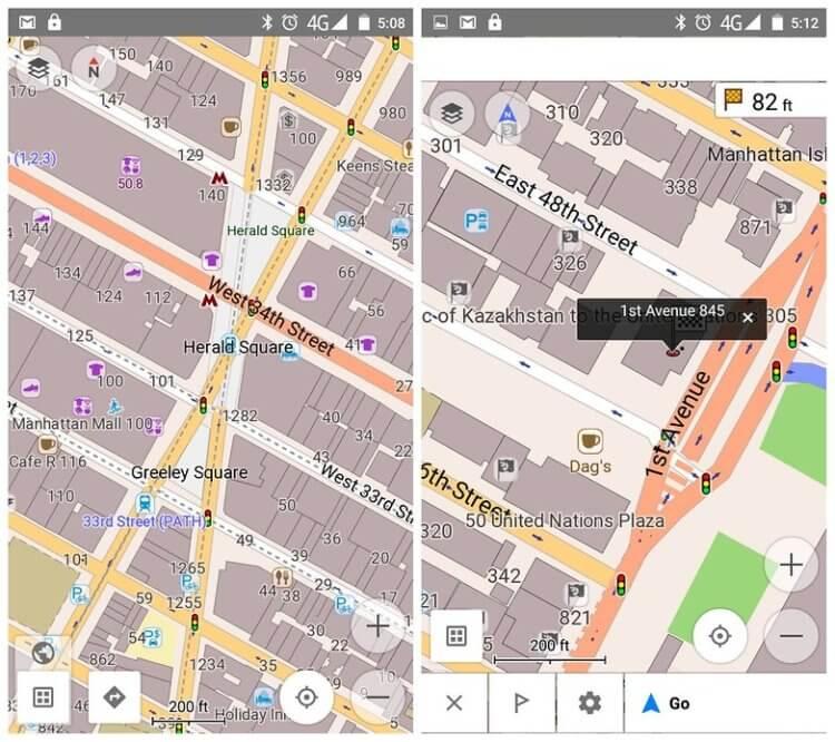 Приложения с картами, которые работают в режиме офлайн