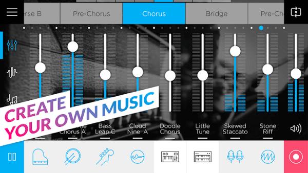 Лучшие программы для создания музыки на Android