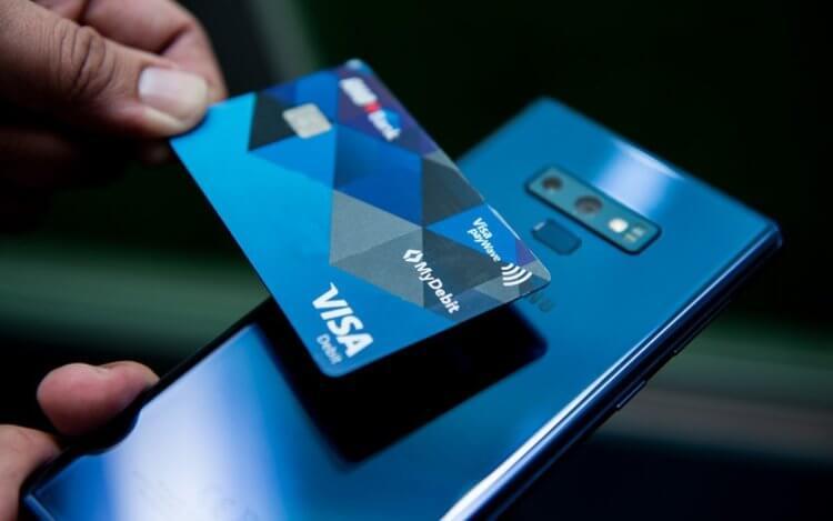 Приложение Pay Touch позволяет смартфонам Samsung принимать платежи с карт