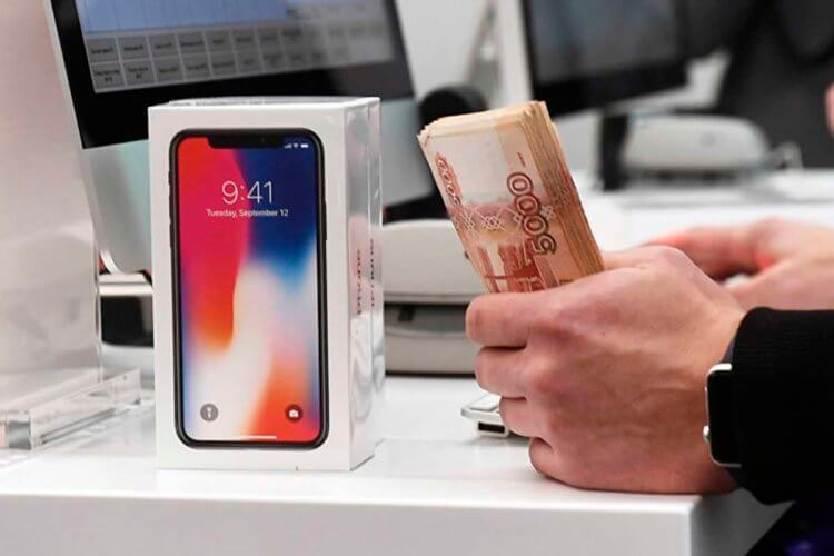 Как смартфоны попадают на территорию России