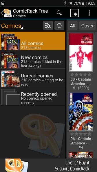 Лучшие программы для чтения комиксов на Android