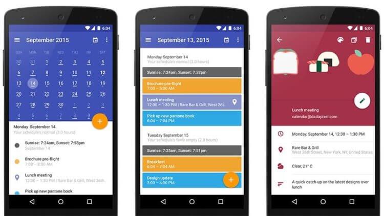 Я календарь переверну: Лучшие приложения-календари для Android