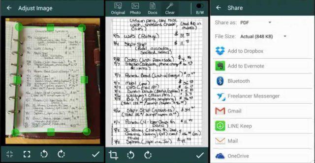 Как отсканировать и создать PDF-документ при помощи Android-смартфона