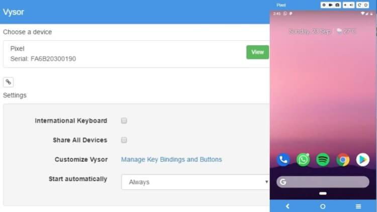 Как передать изображение с экрана Android-смартфона на ПК без root-прав
