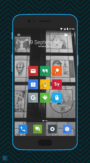 Как сделать иконки на Android квадратными