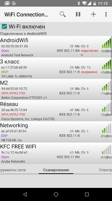 Как задать приоритет предпочитаемых Wi-Fi сетей на Android