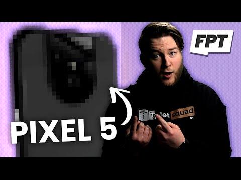 Вас удивит внешность Google Pixel 5 XL