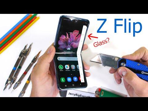 «Ультратонкое стекло» Galaxy Z Flip — обычный пластик. Или все-таки нет?