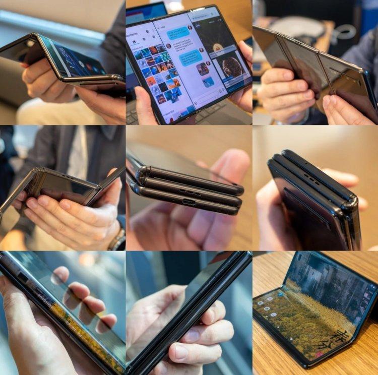 Показаны прототипы складных и сворачиваемых телефонов
