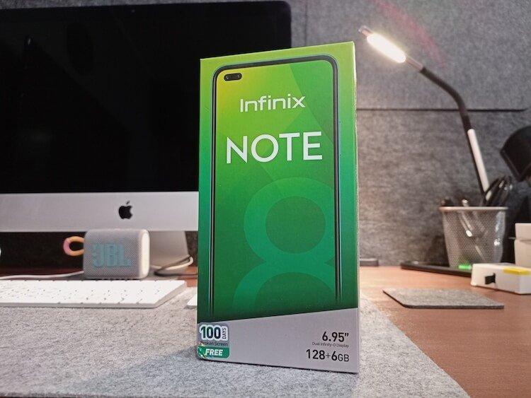 Infinix Note 8 — огромный игровой смартфон с хорошей камерой